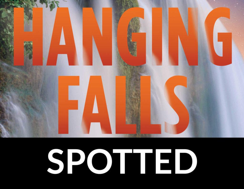 Hanging Falls by Margaret Mizushima SPOTTED FALLS